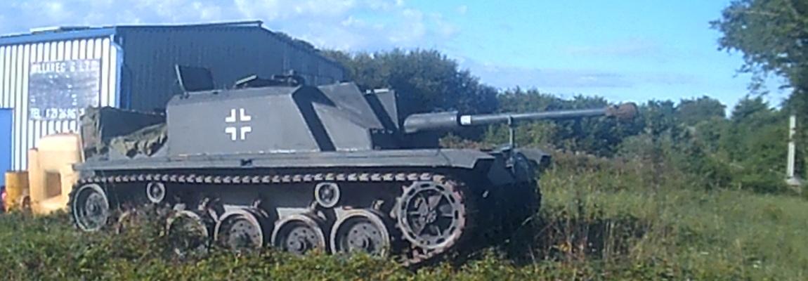 Le char en juin 2015